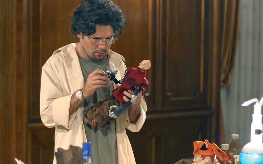 Puppet Mster vs. Demonic Toys